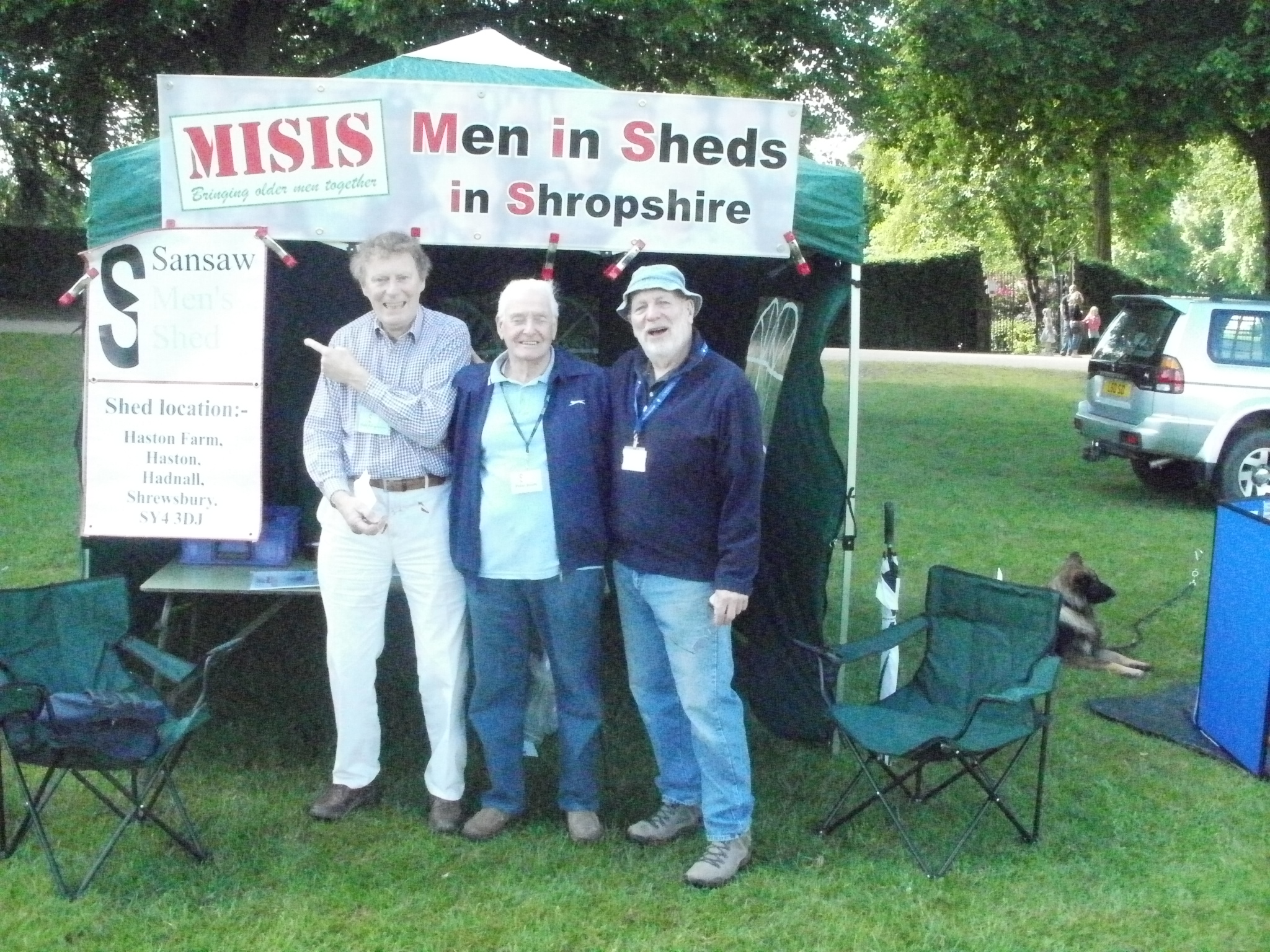 MISIS at Lions Fun Day in the Quarry, Shrewsbury